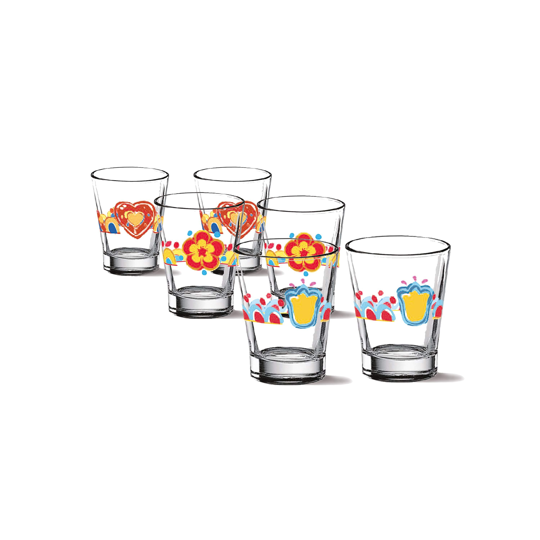 THUN Standard 'Set mit 6 kleine Gläsern Lama' 2021