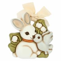 Small mould magic rabbit with dove