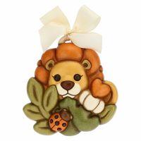 Small decorative plaque – lion