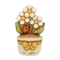 Pot With Daisies