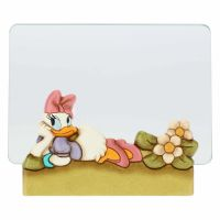 Medium THUN Disney® Daisy Duck glass photo frame, format 10x15 cm