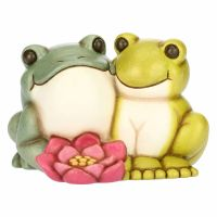 Medium couple toad and frog