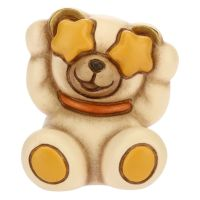 Teddy Emoticon felice con occhi a stelle