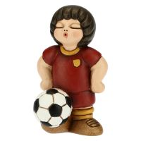 Red yellow football player