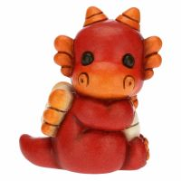 Red baby dragon red