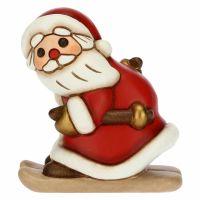 Babbo Natale con sci