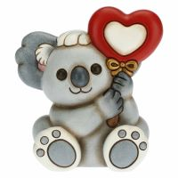 Koala Koki cub with heart