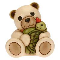 Teddy abbraccio affettuoso con tartaruga Vera