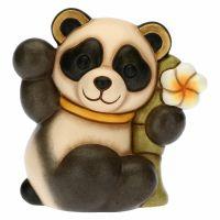 Peace-loving Bandoo Panda with bamboo