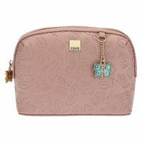 "Multipurpose ""Farfalle in Festa"" small bag in faux leather"