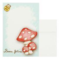 Gift card mushroom