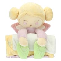 Plush with blanket little fairy