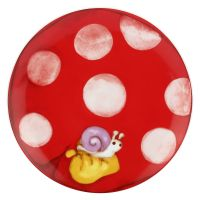 "Dessert plate mushroom ""Bosco incantato"""