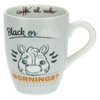 Zebra mug - Black or white mornings?