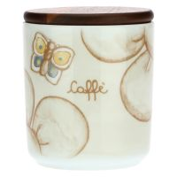 Elegance porcelain coffee jar