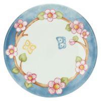 Fiori Di Pesco multipurpose plate with butterflies