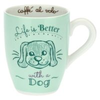 Mug con cane - Life is better with a dog