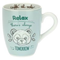 Mug con panda - Relax there's always tomorrow