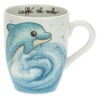 We Are Ocean Lovers dolphin mug