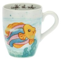 We Are Ocean Lovers colourful fish mug