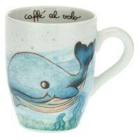 We Are Ocean Lovers whale mug
