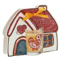 Candle with house pack Folk - bergamot