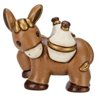Donkey with flasks for Traditional Nativity Scene