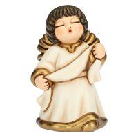 Classic crib white angel annunciation