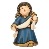 Classic crib blue angel annunciation