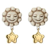 Earrings Current sun