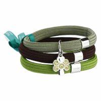 Bracciale elastico colorato Impulse con albero della vita