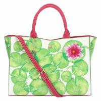 "Eco-leather bag ""Acqua dolce"""