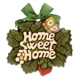 Home Sweet Home large profiled decorative wall plaque