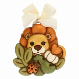 Small decorative plaque – lion