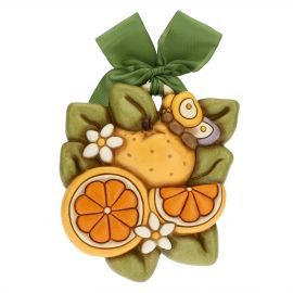 Oranges decorative plaque