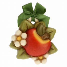 Decorative plaque - apple and flowers