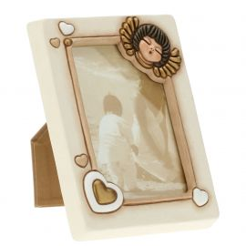 Medium wall/table angel photo frame