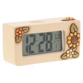 Digital clock flower Country