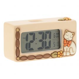 Orologio digitale Country con gatto