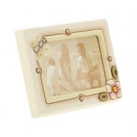 Medium wall/table photo frame flower