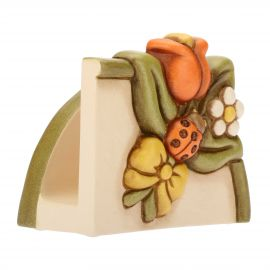 Napkin holder flowers Country
