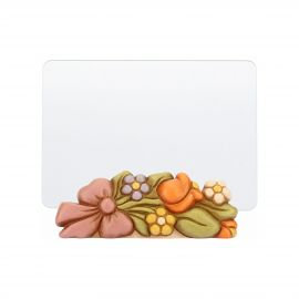 Photo Frame With Flowers Country