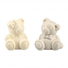 Salt And Pepper Teddy