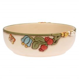 Country ceramic bowl