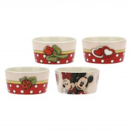 Set 4 ciotole medie multiuso in ceramica Minnie THUN Disney®