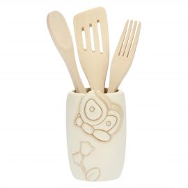Utensils holder Elegance with 3 ladles