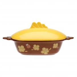 "Oval oven tray ""Zucca magica"""