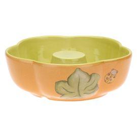 """Tortiera in ceramica """"Zucca magica"""""""