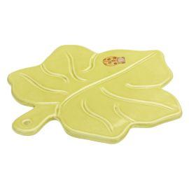 """Sottopentola a forma di foglia in ceramica """"Zucca magica"""""""