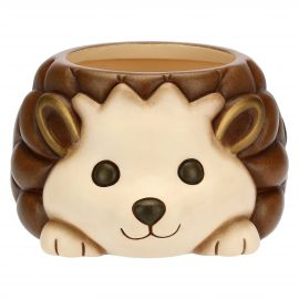 """Coprivaso piccolo a forma di riccio in ceramica """"Preludio d'inverno"""""""